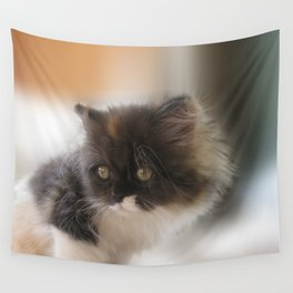 Nano Baby Kitten Wall Tapestry