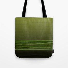 Horizon (olive green) Tote Bag