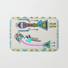 Ceremonial Native American Bath Mat