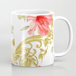 Scroll Azelea Coffee Mug