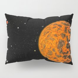 Astronomers using NASAs Spitzer Space Telescope have detected what they believe is an alien world ju Pillow Sham