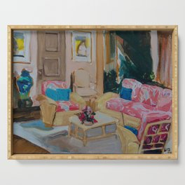 Golden Girls living room Serving Tray