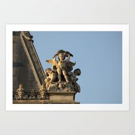 Angels of the Louvre Art Print