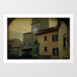 Cortona (Italy) Art Print
