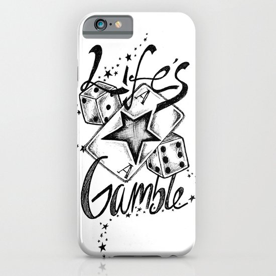Life's A Gamble iPhone & iPod Case
