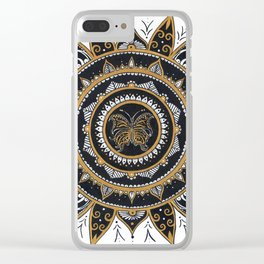 October Wings Clear iPhone Case