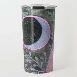 Moon in Purple Bramble Travel Mug
