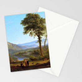 At Matlock, Mist Rising - John Glover Stationery Cards