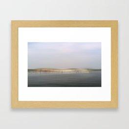 Canandaigua Lake Boathouses 2011 Framed Art Print
