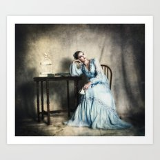 The Ennui of Tea Art Print