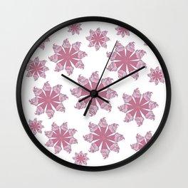 Ice Cream Cone Swirls Wall Clock