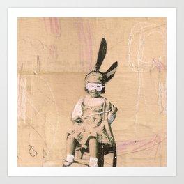 Imaginary Friends- Magician Art Print
