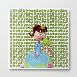 The Princess and the Frog Metal Print