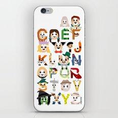Oz-abet (an Oz Alphabet) iPhone & iPod Skin