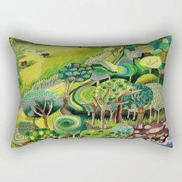 The Long Trail Rectangular Pillow