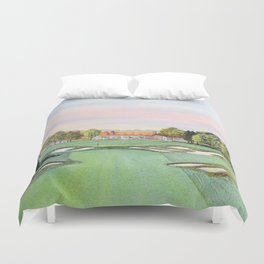 Bethpage State Park Golf Course Duvet Cover