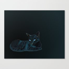 Biscut the Tabby Cat Canvas Print