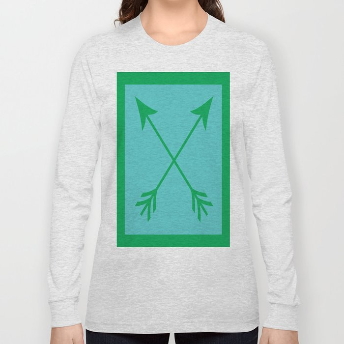 Crossed Arrows Long Sleeve T-shirt