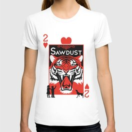Sawdust Deck: The 2 of Hearts T-shirt