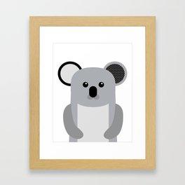 Koala Nursery wall Art Poster Baby art Kids room decor Zoo Animals Farm Animals Framed Art Print