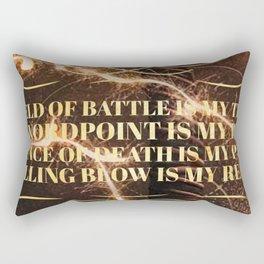 an ember Rectangular Pillow