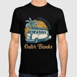 Outer Banks Pogue Life - John B JJ Kiara Pope - OBX T-shirt