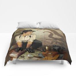 Detective 2 Comforters