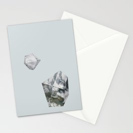 Alaska from above Stationery Cards