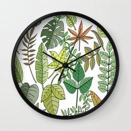 Leaf seasons Wall Clock