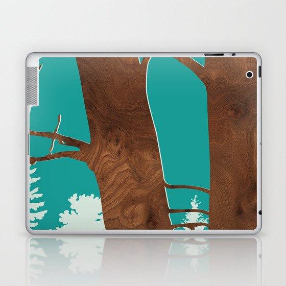 red alder Laptop & iPad Skin