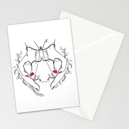 Ovary power Stationery Cards