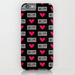 Gamer love iPhone Case