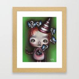 Stuffing Framed Art Print