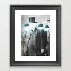 Business As Usual  Framed Art Print