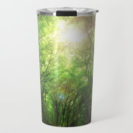 Endless Green Forest of Dreams Travel Mug