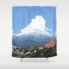 Garden of the Gods Shower Curtain