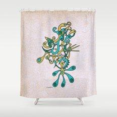 - heat - Shower Curtain