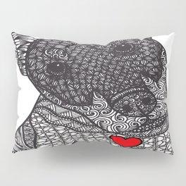 Fearless Protector - Doberman Pillow Sham