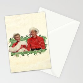 Phil & Judy (White Christmas) Stationery Cards