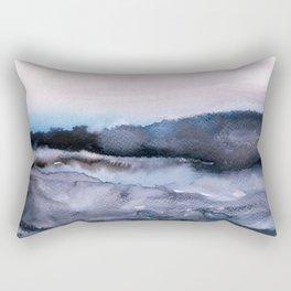 layers of colour 2 Rectangular Pillow