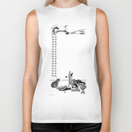 Oh sweet melody born in the brilliant eyes of a cat's Lover Poet! Biker Tank