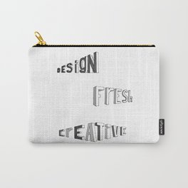 design fresh creative Carry-All Pouch
