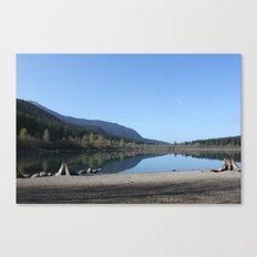 Rattle Snake Lake Canvas Print