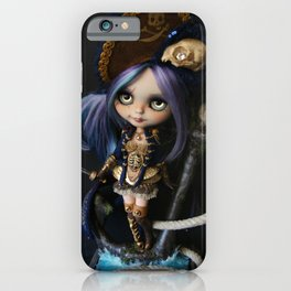 LADY BUCCANEER PIRATE OOAK BLYTHE ART DOLL iPhone Case