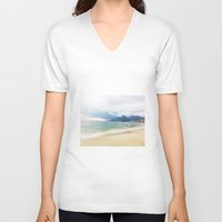 rio V-neck T-shirts featuring Rio by The Miniatures