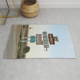 Route 66 - Pony Soldier Motel Rug