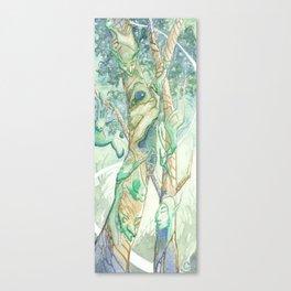 The Bumi Tree Sprites Canvas Print