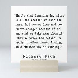 20  | Richard Bach Quotes | 190916 Mini Art Print