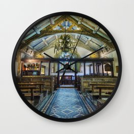 Hidden Chapel Wall Clock