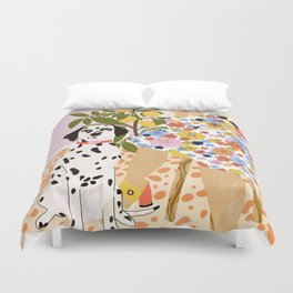 The Chaotic Life Duvet Cover